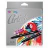 Colorino Artist cienkopisy z plastikową końcówką, 12 kolorów (92449PTR)